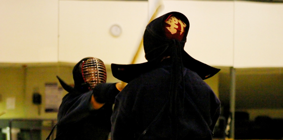 Kendo Men Strike