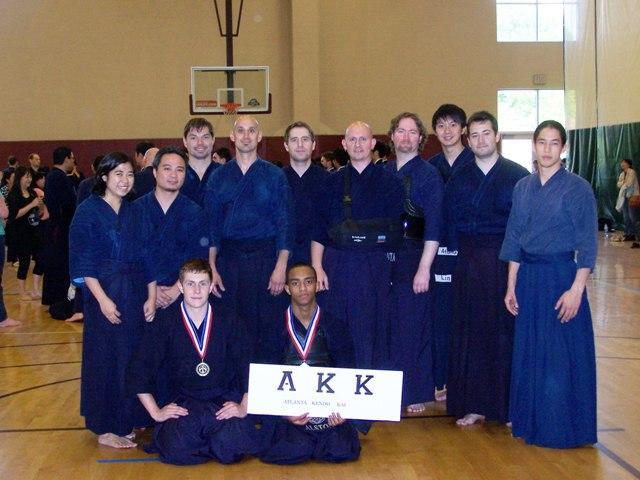 Atlanta Kendo Kai at GKA Taikai