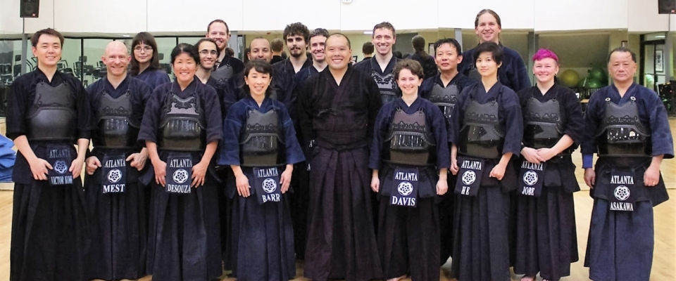 Koki Abe Sensei Visit Group Photo
