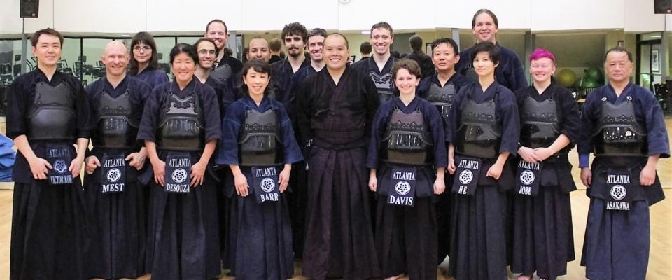 Koki Abe Sensei Visit Group Photo